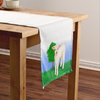 Little Lamb Short Table Runner