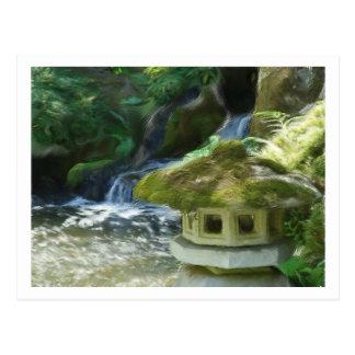 Little Lantern by the Falls Postcard