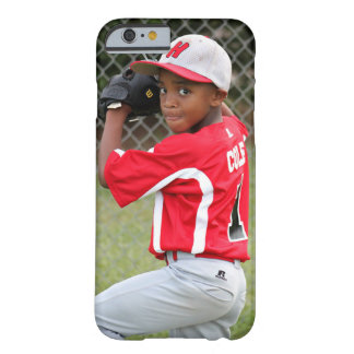 Little League Sports Player Photo iPhone 6 Case