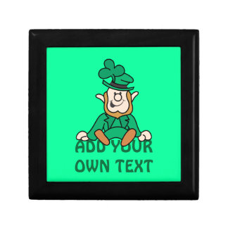 Little Leprechaun - Add Your Own Text Gift Box