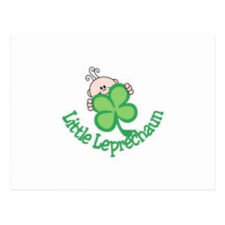Little Leprechaun Postcard