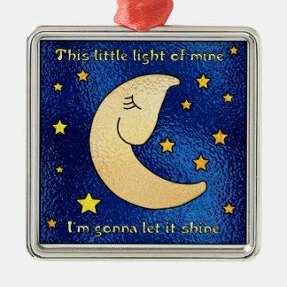 Little Light of Mine Metal Ornament