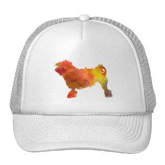 Little Lion Dog in Watercolor Trucker Hat