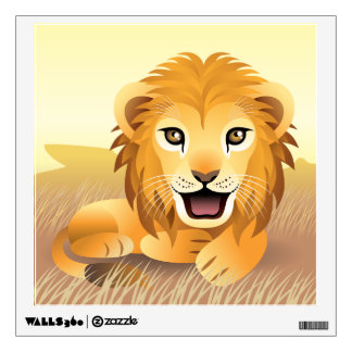 Little Lion Wall Decal