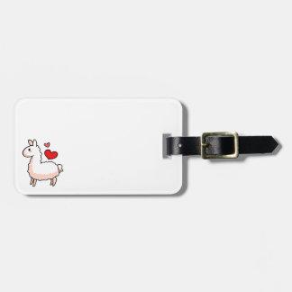 Little Llama Luggage Tag