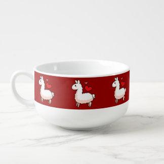 Little Llama Soup Mug