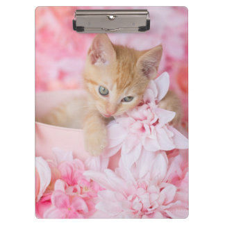 Little LOKI Pink Floral Clipboard
