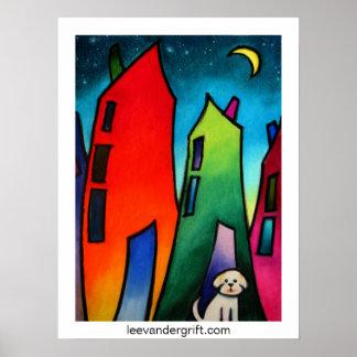 Little Lost dog.09 smlrjpg, leevandergrift.com Poster