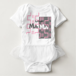Little Mama baby t-shirt tutu
