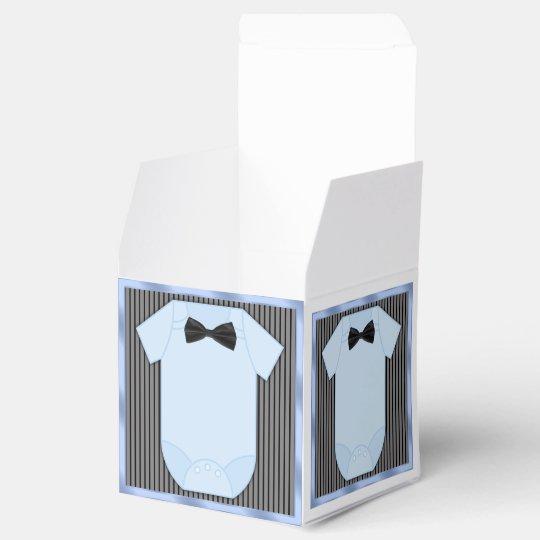Little Man Baby Boy Shower Wedding Favor Boxes