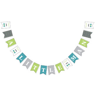 Little Man Baby Shower Banner
