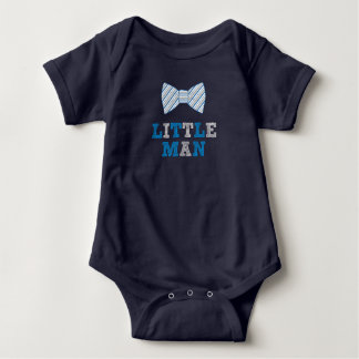 Little Man bow tie, new baby boy gift idea Baby Bodysuit