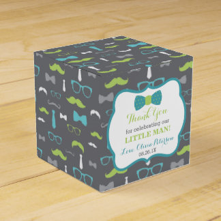 Little Man Favor Box, Baby Shower Favor Box