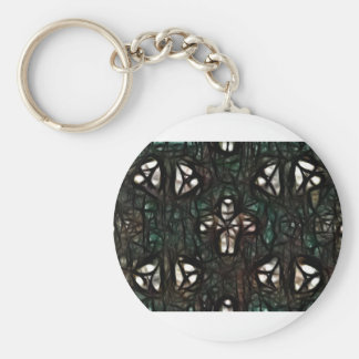 Little Man In A Web Basic Round Button Keychain