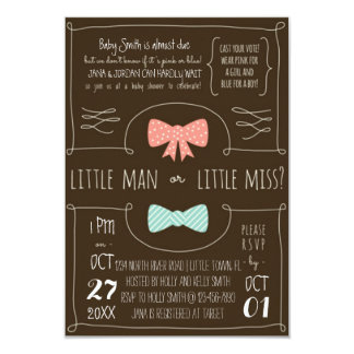 Little Man or Little Miss? Card