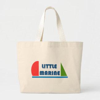 little marine large tote bag