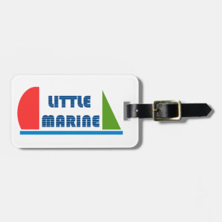 little marine luggage tag