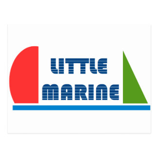 little marine postcard