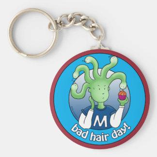 Little Medusa. Bad Hair Day! Keychain
