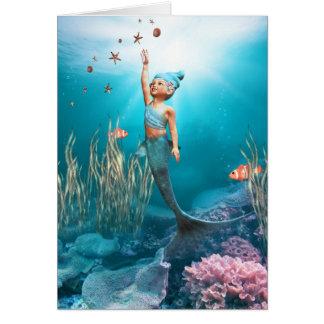 Little Mermaid Card