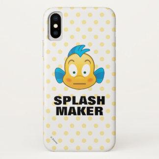 Little Mermaid Emoji | Flounder iPhone X Case