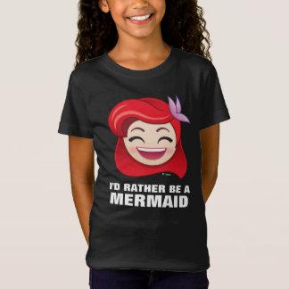 Little Mermaid Emoji   Princess Ariel - Happy T-Shirt