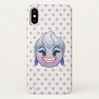 Little Mermaid Emoji | Ursula iPhone X Case