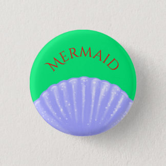 Little Mermaid Inspired 1 Inch Round Button