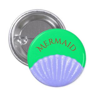 Little Mermaid Inspired 1 Inch Round Button