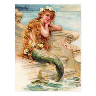 Little Mermaid Postcard
