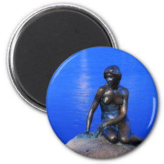 Little mermaid statue, Copenhagen, Denmark Magnet