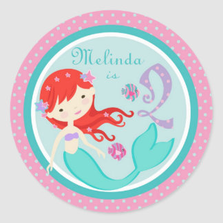 Little Mermaid Sticker Auburn 2B