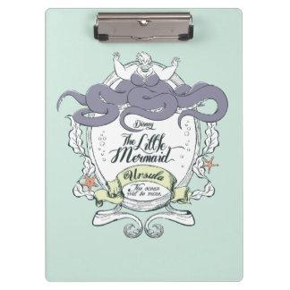 Little Mermaid | Ursula - The Ocean Will Be Mine Clipboard