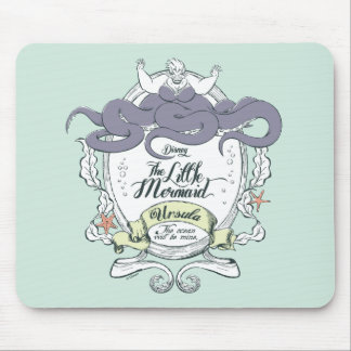 Little Mermaid | Ursula - The Ocean Will Be Mine Mouse Pad