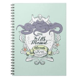 Little Mermaid | Ursula - The Ocean Will Be Mine Notebook