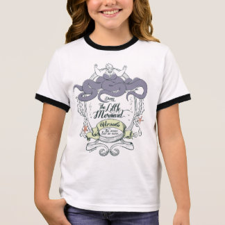 Little Mermaid | Ursula - The Ocean Will Be Mine Ringer T-Shirt