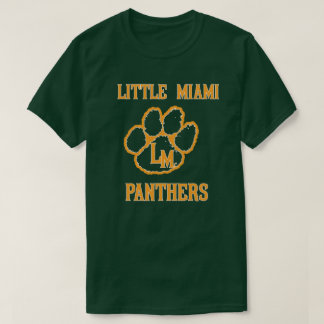 LITTLE MIAMI HIGH SCHOOL FOOTBAL PANTHERS OHIO T-Shirt