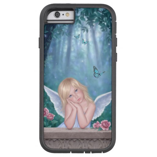Little Miracles Angel Child iPhone 6 Tough Case iPhone 6 Case