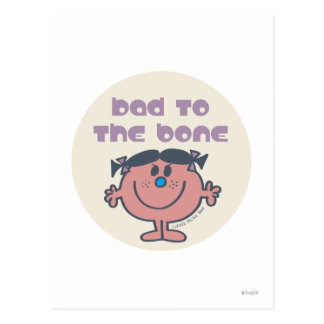 Little Miss Bad | Bad To The Bone Postcard
