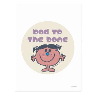 Little Miss Bad | Bad To The Bone Postcard