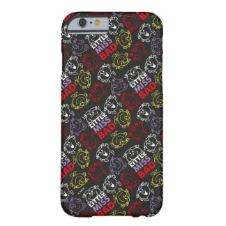 Little Miss Bad | Black, Red & Yellow Pattern Barely There iPhone 6 Case
