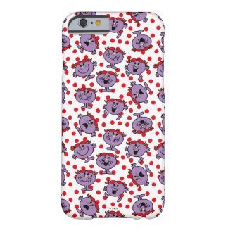 Little Miss Bad | Red Polka Dot Pattern Barely There iPhone 6 Case
