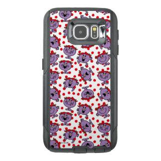 Little Miss Bad | Red Polka Dot Pattern OtterBox Samsung Galaxy S6 Case