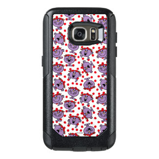 Little Miss Bad | Red Polka Dot Pattern OtterBox Samsung Galaxy S7 Case