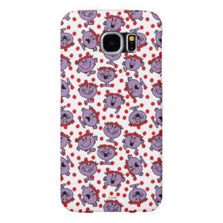 Little Miss Bad | Red Polka Dot Pattern Samsung Galaxy S6 Case
