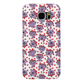 Little Miss Bad | Red Polka Dot Pattern Samsung Galaxy S6 Cases