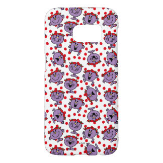 Little Miss Bad | Red Polka Dot Pattern Samsung Galaxy S7 Case