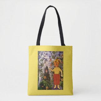 Little Miss Blondie Hiker Tote Bag