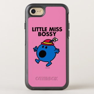Little Miss Bossy | Black Lettering OtterBox Symmetry iPhone 8/7 Case