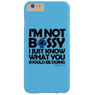 Little Miss Bossy Just Knows Barely There iPhone 6 Plus Case